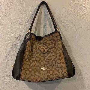 Coach Edie 31 shoulder bag in brown